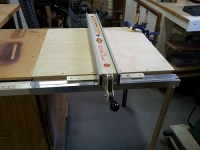 Table Saw Fence Extension