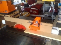 Table Saw Planer Jig
