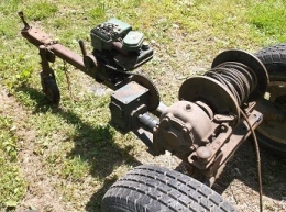 Homemade portable motorized winch for Diy motorized pulley system