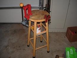 Homemade Reloading Stand