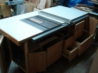 Table Saw and Router Workstation