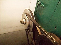 Lathe Pulley Modification