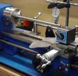 Homier Lathe Alignment Setup