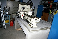 Concrete Workbench for Lathe
