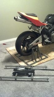Homemade Motorcycle Rear Stand Homemadetools Net