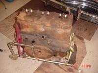 Rolling Engine Storage Stand