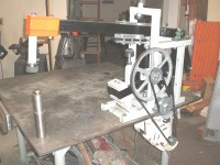 Bench-Mountable Helve Hammer