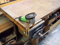Workbench Grinder Mount