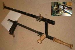 Homemade Wood Lathe Hollowing Tools