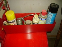 Toolbox Aerosol Can Holder