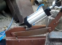 Pneumatic Sheetmetal Cutter