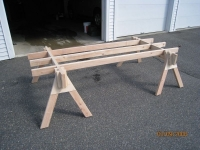 Sheet Cutting Sawhorse