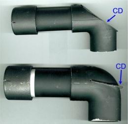 Homemade reflection spectrometer for Homemade periscope pvc