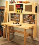 Fold Down Workstation