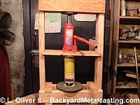 Wooden Hydraulic Press