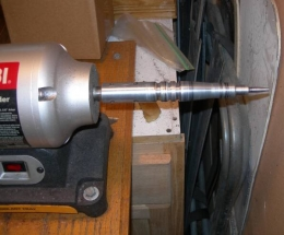 leather edge burnishing machine