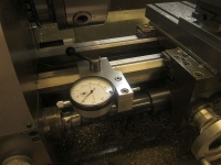 Lathe Saddle Stop
