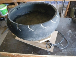 how to build a rock polisher