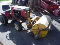 Tractor Sweeper Attachment