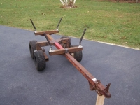 ATV Firewood Trailer
