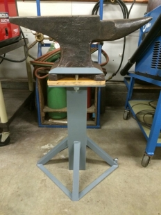 Homemade Anvil Stand Homemadetools Net