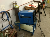 TIG Welder Cart