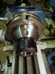 Table Mounted Collet Chuck