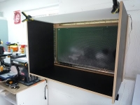 Fold Out Paint Booth