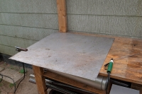 Temporary Welding Table