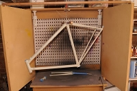 Bicycle Paint Booth