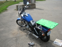 Motorcycle Rack