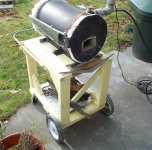 Propane Forge Stand