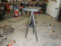Adjustable Forge Stand