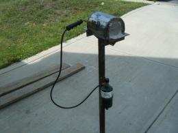 homemade gas forge. homemade gas forge i