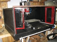 Flood Coolant Enclosure