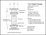 Tool Height Gauge