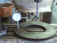 Mill Tramming Disc