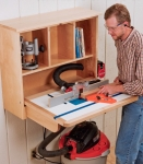 Wall Mounted Router Table