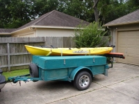 Kayak and Fishing Trailer