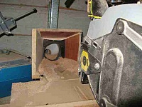 Radial Arm Saw Dust Scoop