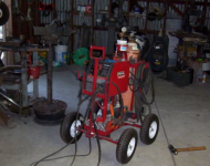 Steerable Welding Cart