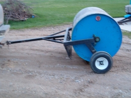 Homemade Lawn Roller