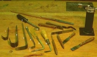 Bent Luthiery Tools
