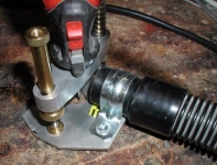 Rotary Tool Vacuum Attachment