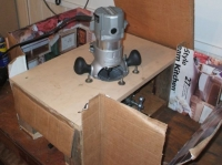 Router Mill for Aluminum
