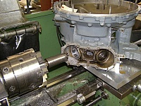 Lathe as Boring Mill