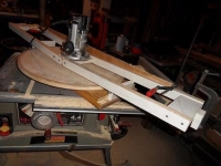 Adjustable Dish Radius Jig