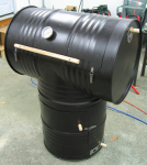 55-Gallon Drum Smoker
