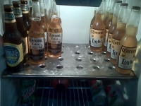 Refrigerator Beer Shelf