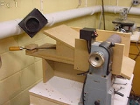 Thickness Sander Lathe Attachment